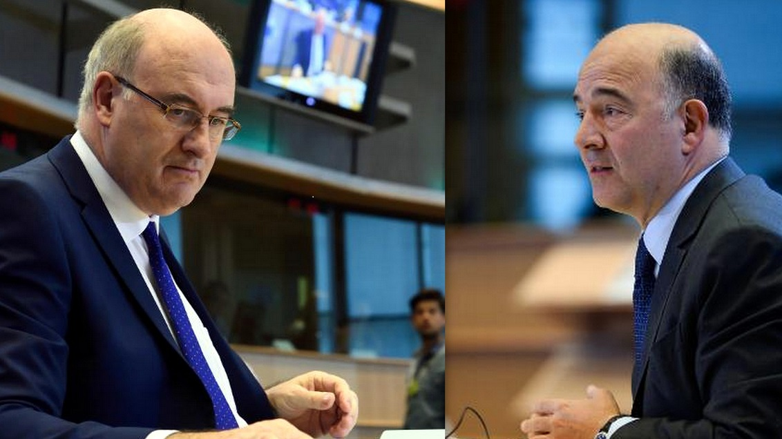 Phil Hogan, Pierre Moscovici