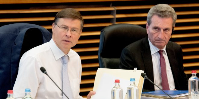 Dombrovskis, Oettinger