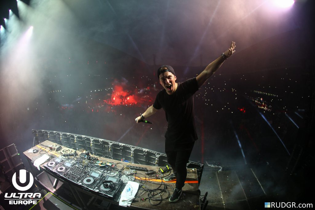 Hardwell @ Ultra Europe 2015